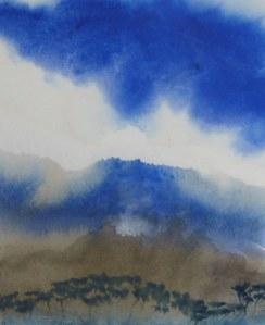 mist over Huon